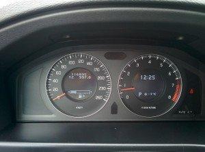 корректировка пробега Volvo s80