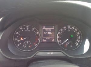смотать пробег Octavia A7